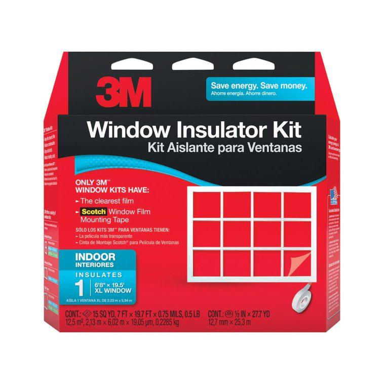 Window insulation kit for winterization